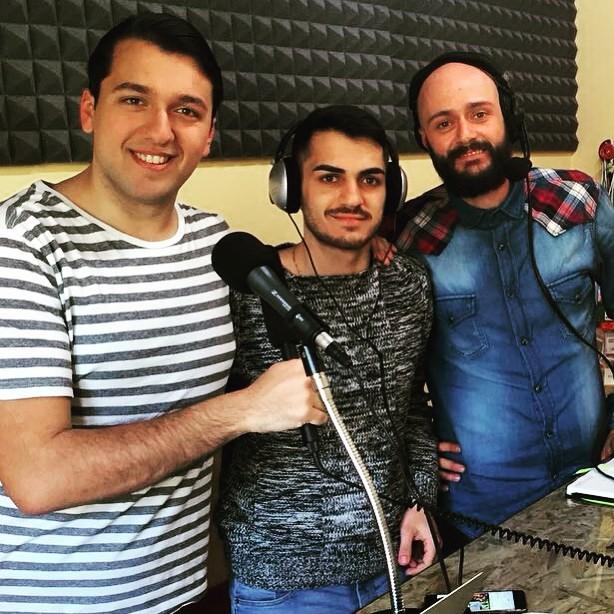 Ai microfoni della Web Radio nella redazione di Romanews.eu