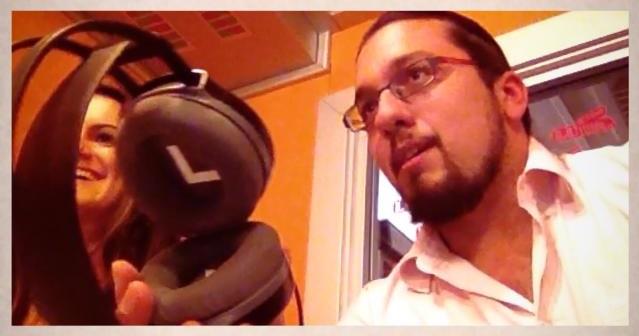 Al fianco di Vittoria Cabras negli studi di Radio Luiss