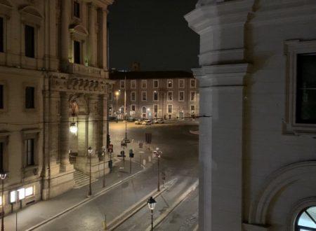 Piazza della Repubblica, vuota